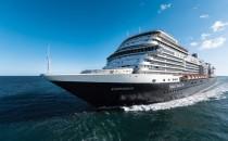 MS Koningsdam besteht Sea Trials im Mittelmeer