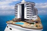 MSC Seaview - der Infinity-Pool am Heck / © MSC Kreuzfahrten