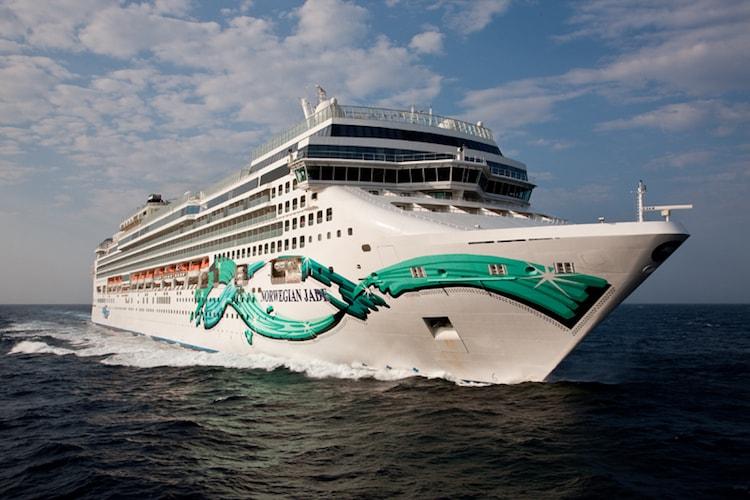 Norwegian Jade startet nur noch auf wenige Abfahrten ab Hamburg in 2017 / © Norwegian Cruise Line