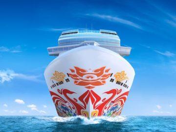 Norwegian Joy - das jüngste Norwegian Cruise Line Schiff von der Meyer Werft in Papenburg / © NCL