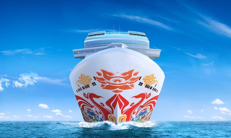 Die baugleiche Schwester Norwegian Joy, die ebenso nach China gehen wird / © Norwegian Cruise Line