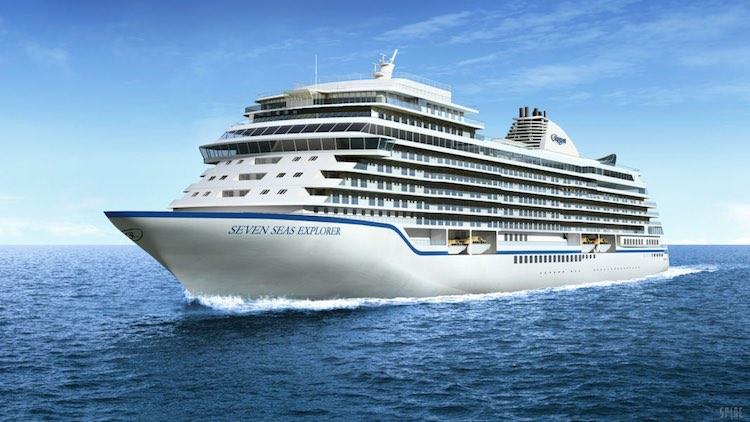 Die Seven Seas Explorer bekommt 2020 ein baugleiches Schwesterschiff / © Regent Seven Seas
