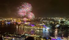 AIDA Silvester Feuerwerk vor Madeira – Live von AIDAsol
