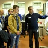Abend der Ausbildung 2016 auf der Meyer Werft: Interessierte Schüler können sich hier über Ausbildungsberufe informieren / © Meyer Werft