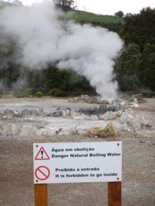 Azoren - Quellen von Furnas