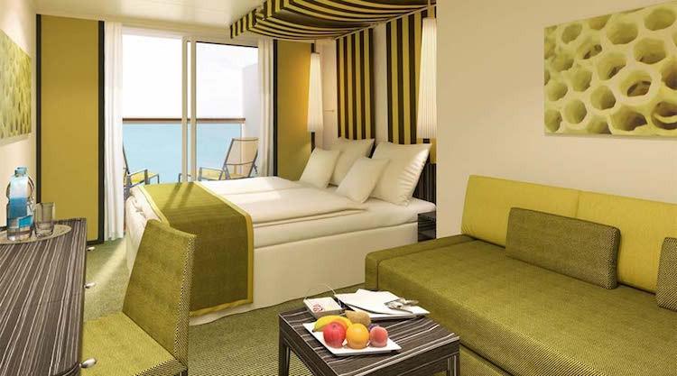 AIDAprima Panoramakabine © AIDA Cruises