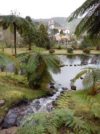 Azoren - Garten Terra Nostra
