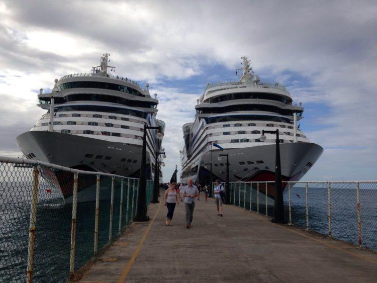 St. Kitts: zwei Jahre in Folge kamen über 1 Millionen Passagiere auf die Insel