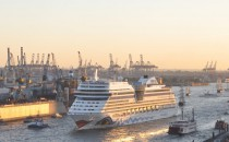 AIDAmar eröffnet Hamburger Kreuzfahrtsaison am 27.02.2016