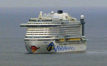 AIDAprima verlässt Japan: 5 Stopps bis Hamburg