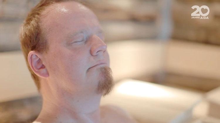 Stephans Prima Time: Heute gibt es exklusive Einblicke in die Saunawelt von AIDAprima / © AIDA Cruises