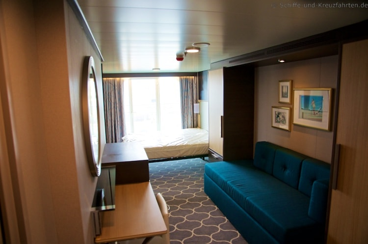 Balkonkabine der Harmony of the Seas