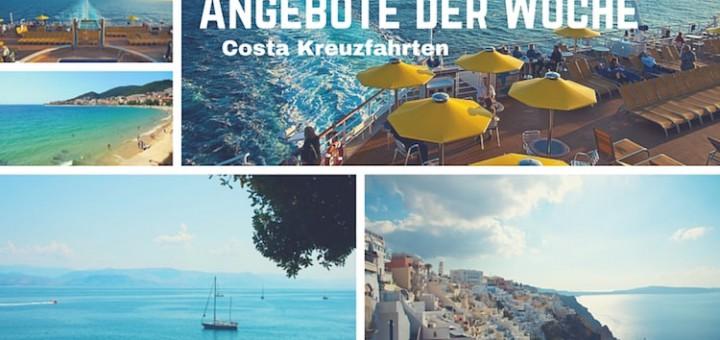 Costa Kreuzfahrten: Angebote der Woche