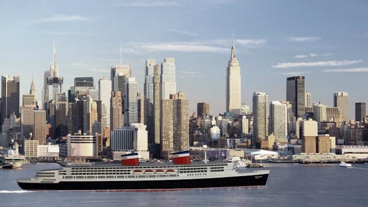 Crystal Cruises möchte das Schiff so aussehen lassen: eine Computer-Animation der neuen SS United States / © Crystal Cruises
