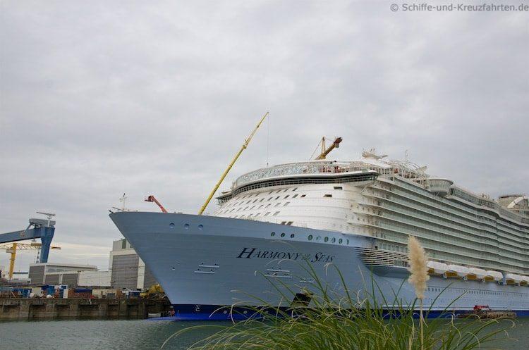 Harmony of the Seas: Größtes Kreuzfahrtschiff der Welt