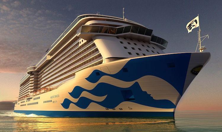 Majestic Princess - der Neubau für China / © Princess Cruises