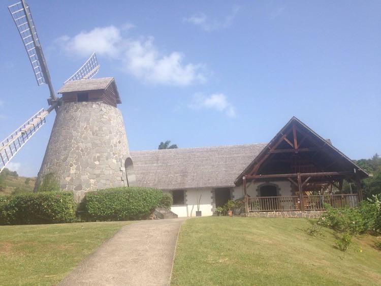 Rumfabrik Trois Riviere auf Martinique