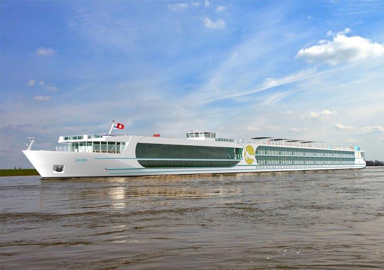 MS Aves - neues Flusskreuzfahrtschiff / © Rivertech