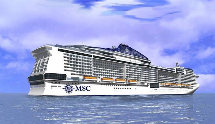 MSC Kreuzfahrten hat vier neue Kreufzahrtschiffe mit LNG Antrieb bestellt / © MSC Kreuzfahrten
