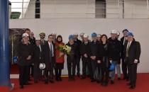 Seabourn Encore: Münzzeremonie auf Fincantieri Werft