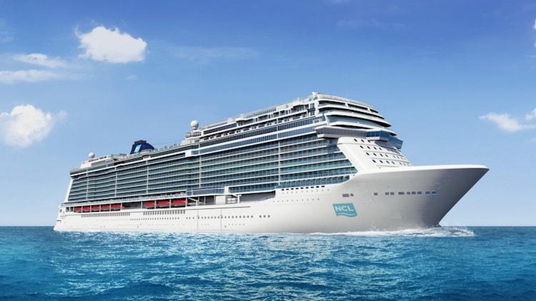 Der zweit China-Neubau von Norwegian Cruise Line - das vierte und letzte Schiff der Breakaway Plus Klasse von der Meyer Werft / © Norwegian Cruise Line