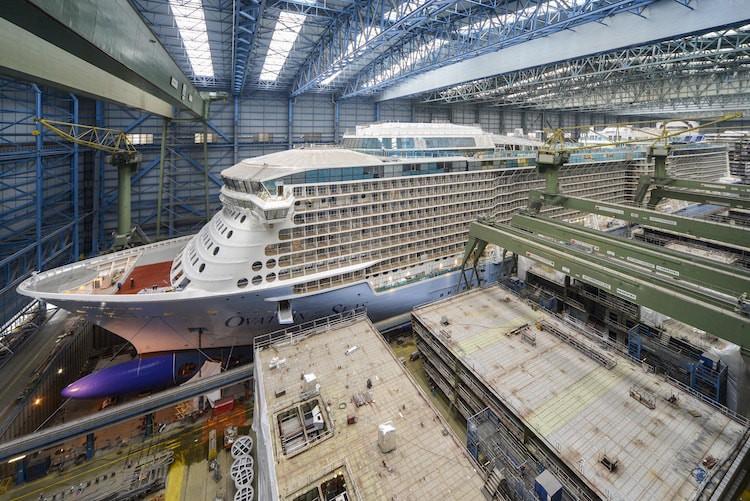 Ovation of the Seas © Meyer Werft Papenburg