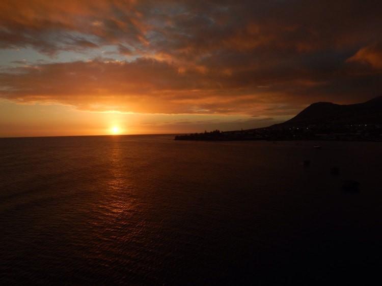 Sonnenuntergang St. Kitts