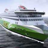 Tallink Megastar: Neue Schnellfähre wurde heute bei Meyer Turku auf Kiel gelegt / © Tallink Silja