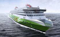 Tallink Megastar auf der Meyer Turku Werft auf Kiel gelegt
