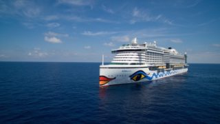 AIDAprima im Sturm auf der Nordsee / © AIDA Cruises