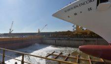 Seabourn Encore ist bei Fincantieri aufgeschwommen