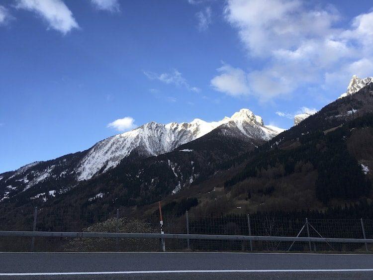 Passo del San Bernardino Schweiz