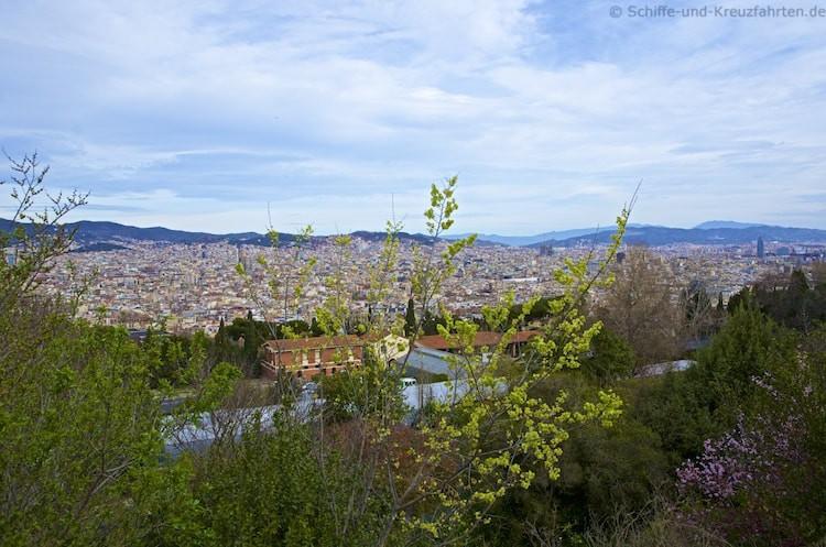 Barcelona - Blick vom Montejuic