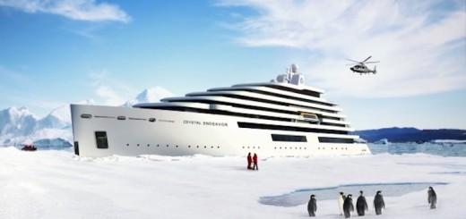 Crystal Endeavor: Neubau von der Lloyd Werft für Crystal Cruises / © Crystal Cruises