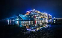 Ovation of the Seas muss zu Blohm und Voss ins Dock nach Hamburg