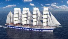 Flying Clipper: Das neue Kreuzfahrt-Segelschiff von Star Clippers