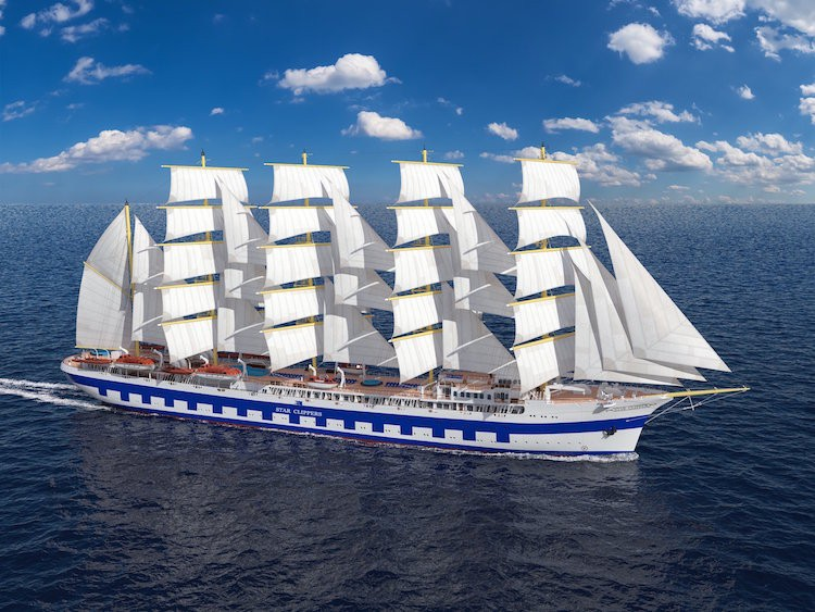 Das neue Segelschiff - Flying Clipper / © Star Clipper