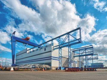 Die ehemaligen Nordic Yard Werft / © Genting Group
