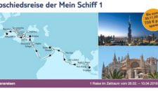 Mein Schiff 1 Abschiedsreise – Letzte Kreuzfahrt für TUI Cruises