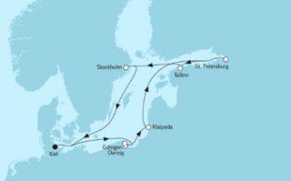 Neue Mein Schiff 1 Ostsee Baltikum mit Danzig 1