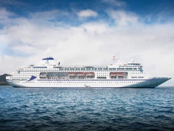 Die neue MS Columbus - ex Pacific Pearl / © Cruise and Maritime Voyages