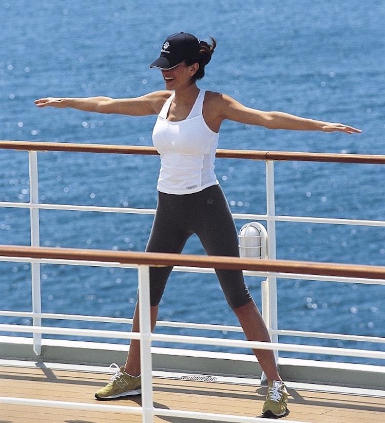 """Die """"Wellness Erlebniswelt powered by Technogym"""" bietet maßgeschneiderte Fitnessangebote auf MSC Kreuzfahrten / © MSC Crociere"""