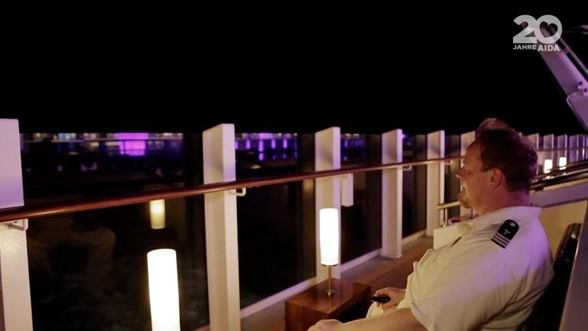 Stephan zeigt Euch die schönsten Plätze auf AIDAprima in seiner AIDAprima Time / © AIDA Cruises