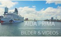 AIDAprima Bilder & Videos von Bord
