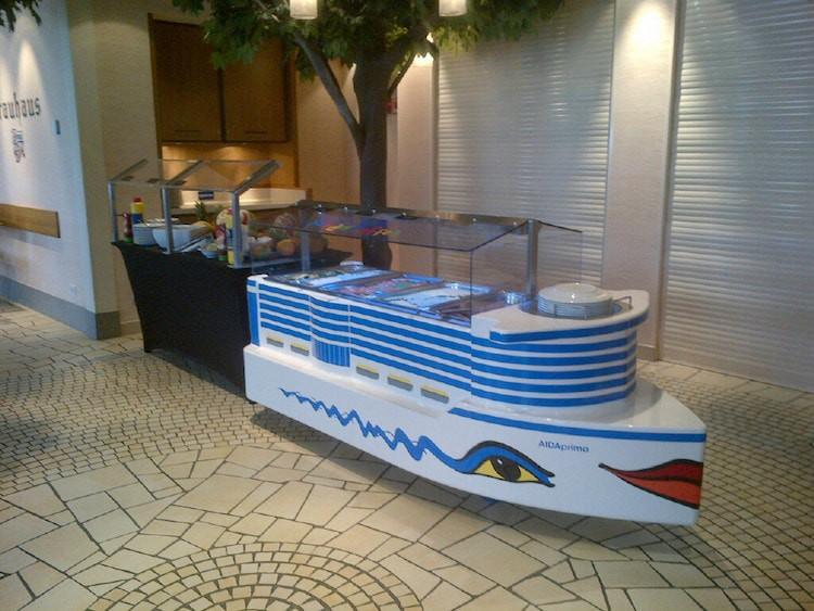 AIDAprima Kinderbuffet auf der AIDAmar