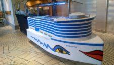 AIDA Kinderbuffet als Schiffsmodell der AIDAprima