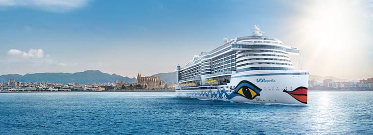 AIDAperla Kreuzfahrten ab Hamburg / © AIDA Cruises