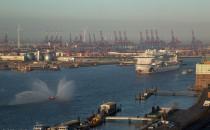 AIDAprima ist in Hamburg angekommen (Bilder & Video)