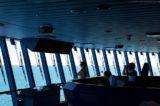 Arbeitsplatz der AIDA Kapitäne - hier die Brücke von AIDAprima