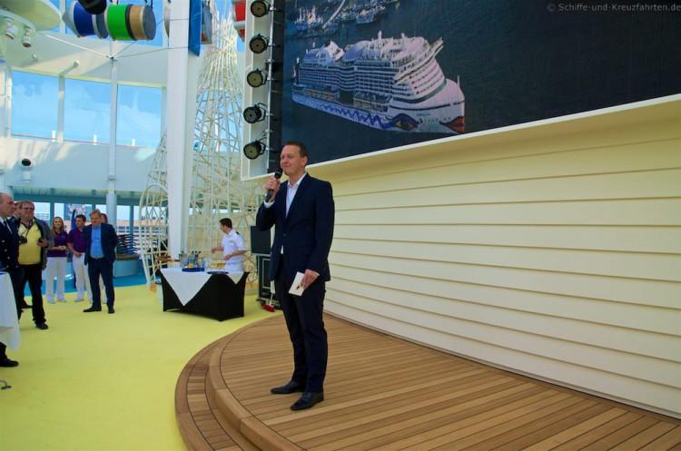 Felix Eichhorn - President AIDA Cruises